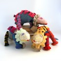 Cozy Old Sweaters Become Cuddly New Critters in Ragamuffins