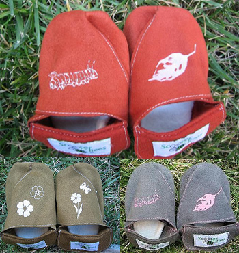 ScooterBees Shoes May be Worn 4 Different Ways to Tell Tots a Story
