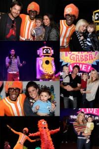 Yo Gabba Gabba Parties Like A Rockstar In LA!