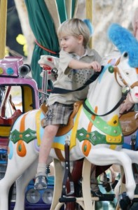 Alastair Stewart Rides the Carousel in Cannes