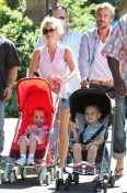 Britney Spears  & Jason Trawick in Sydney with Jayden and Sean P