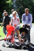 Britney Spears and Jason Trawick in Sydney with Jayden & Sean P
