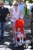 Britney Spears  in Sydney with Jayden