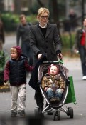 Cate Blanchett with sons  Dashiell & Ignatius in NYC