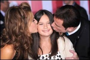 John Travolta and Kelly Preston out with Ella Bleu