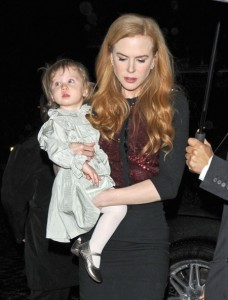 Kidman & Sunday Rose Dine in NYC