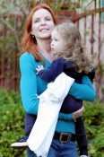 Marcia Cross with daughter Savannah