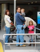 Mark and Rhea Wahlberg shop with Ella, Michael & Brendon