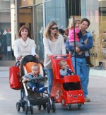 Mark and Rhea Wahlberg shop with Ella, Michael and Brendon