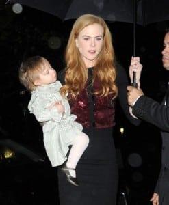 Nicole Kidman and Sunday Rose Dine in NYC