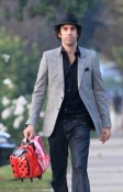 Sacha Baron Cohen out in LA