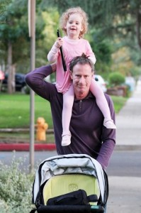 Tom Mahoney with daughter Eden