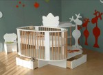 Contemporary Baby Style: Songes et Rigolades Evolutionary Baby Bed