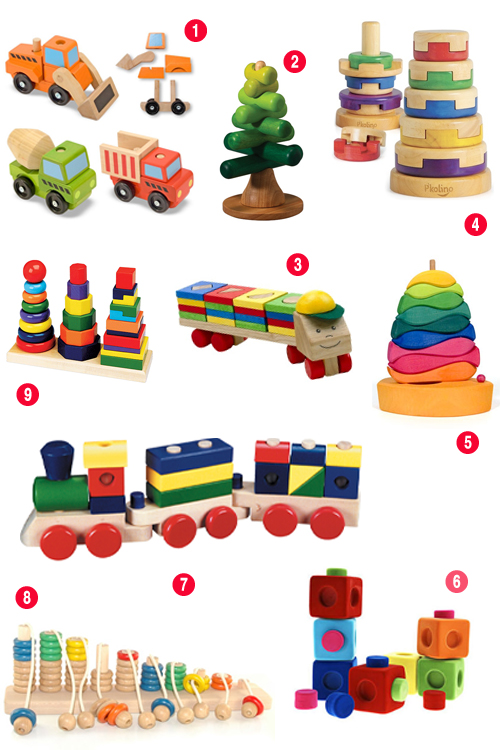 Developmental Play: 10 Cool Stacking Toys