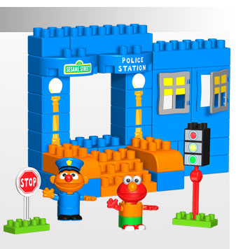 Kid Tested: K'nex Sesame Street Neighborhood Collectio