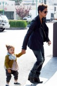 Halle Berry & Nahla Aubry Shop in Beverly Hills