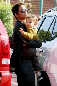 Halle Berry and Nahla Aubry Shop in Beverly Hills
