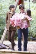 Katie Holmes & Suri Visit Tom Cruise In Sevilla