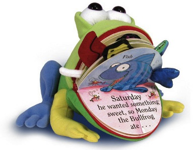 RECALL: 'Monday The Bullfrog' Book Due To Choking Hazard