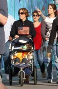 Marc Anthony And Jennifer Lopez spend Christmas Eve at Disneyland with their twins Max & Emme