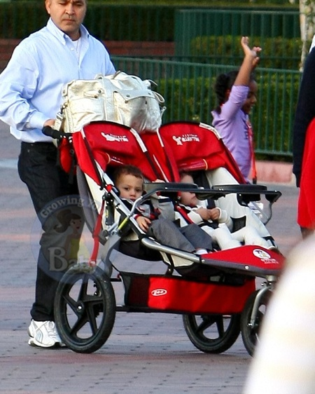 Max and Emme Anthony at Disneyland