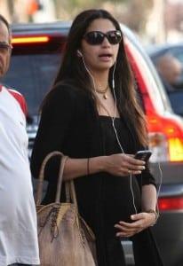 Pregnant Camila Alves