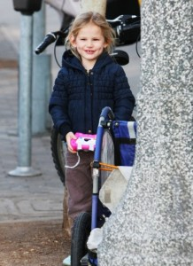 Violet Affleck is all smiles in LA