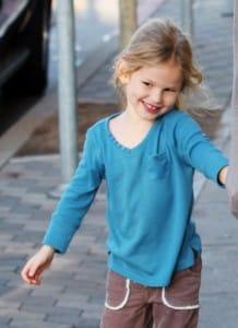 Violet Affleck is shy in LA
