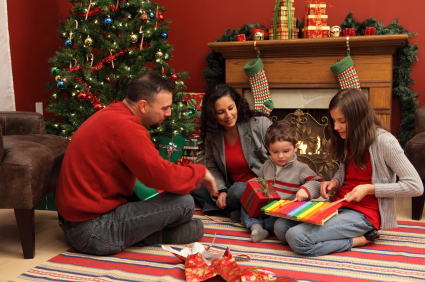 Study: Surprise! Even At Christmas Families Don't Get Along