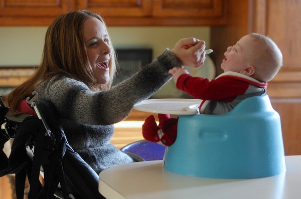 Disabled Mom Fights To Keep Her Son