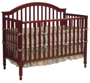 3 -1 Lexington Crib - Cherry Model # DA1614B3