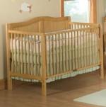 3 -1 Heritage Crib - Natural Model # DA0504KMC-1N