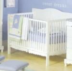 3 -1 Heritage Crib - White Model # DA0504KMC-1W