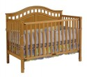 3-1 Convertible Crib - Natural Model # DAKM1615B3