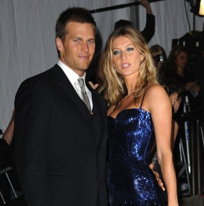 Gisele Bundchen and Tom Brady arrive at The Costume Institute Gala