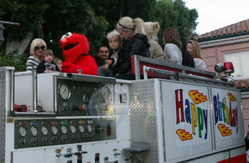 Max Bratman Celebrates His Birthday on A Firetruck!