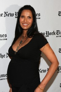 Padma Lakshmi Supports NYT Arts & Leisure Weekend