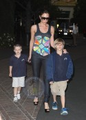 Victoria Takes Her Boys To The Movies!