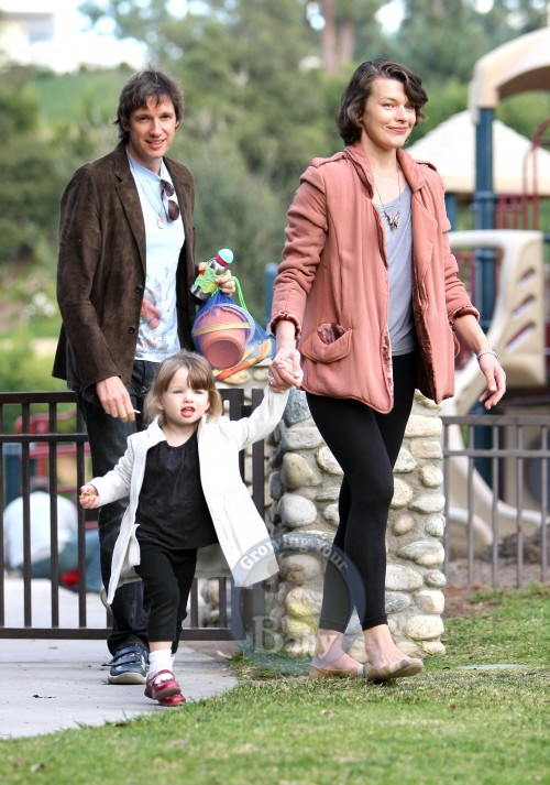 Mila and Family Enjoy A Sunny Day At The Park