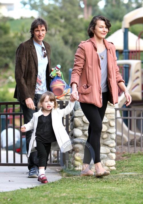 Mila and Family Enjoy A Sunny Day At The Park