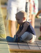Zuma Rossdale in St. Barts
