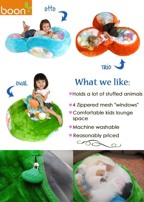 Kid Tested Boon S Oval Animal Bag