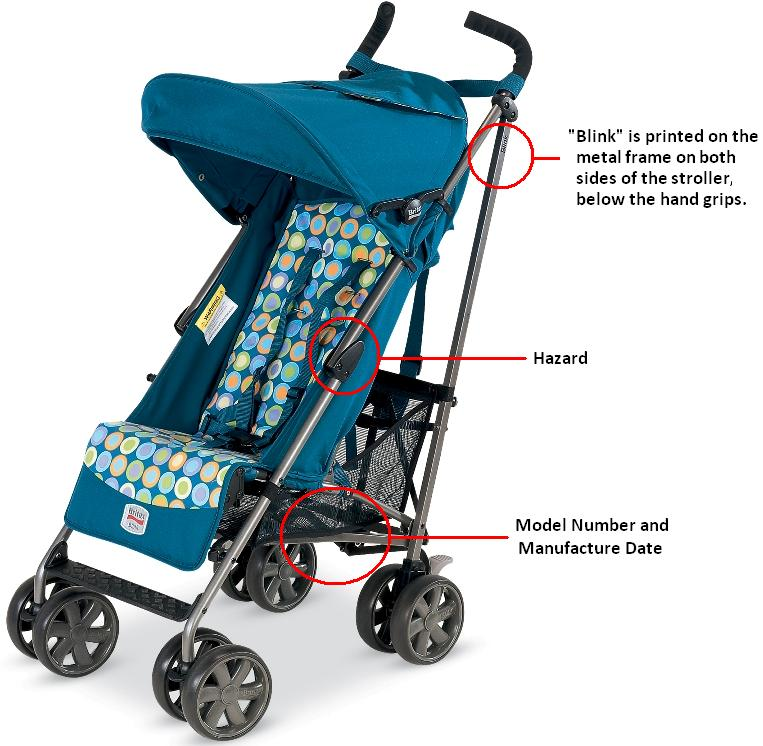 Britax Issues Volluntary Recall of 14,900 Blink Strollers Due to ...