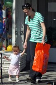 Violet and Seraphina Are Santa Monica Shoppers