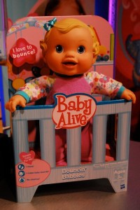baby alive bouncin babbles instructions