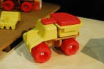 Sprig Toys 4 in 1 Sand Truck
