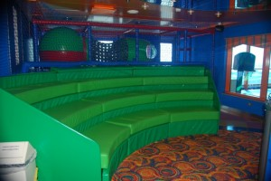 """Shockwaves"" Playroom aboard Caribbean Princess"