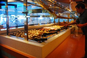 Horizon Court Buffet aboard The Caribbean Princess