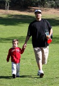 Kevin Federline and His Kids Enjoy A Park Playdate