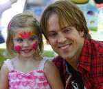 Hearts and Kisses!  Larry Birkhead and Dannielynn Celebrate Valentines in LA!